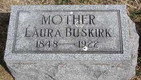 BUSKIRK, LAURA - Cuming County, Nebraska | LAURA BUSKIRK - Nebraska Gravestone Photos