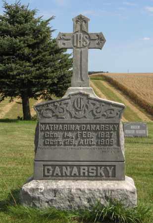 CANARSKY, KATHARINA - Cuming County, Nebraska | KATHARINA CANARSKY - Nebraska Gravestone Photos