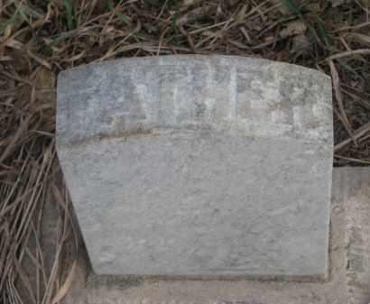 CARTER, RICHARD (FOOTSTONE) - Cuming County, Nebraska | RICHARD (FOOTSTONE) CARTER - Nebraska Gravestone Photos