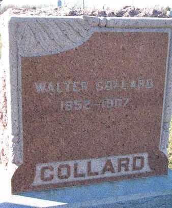 COLLARD, WALTER - Cuming County, Nebraska   WALTER COLLARD - Nebraska Gravestone Photos