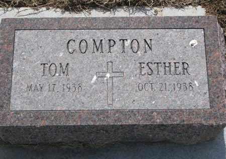 COMPTON, TOM - Cuming County, Nebraska | TOM COMPTON - Nebraska Gravestone Photos