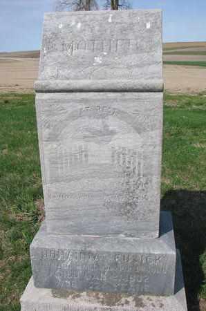 CUSICK, JOHANNA - Cuming County, Nebraska | JOHANNA CUSICK - Nebraska Gravestone Photos