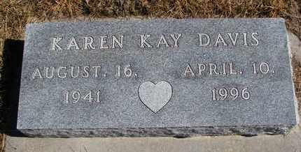 DAVIS, KAREN KAY - Cuming County, Nebraska | KAREN KAY DAVIS - Nebraska Gravestone Photos