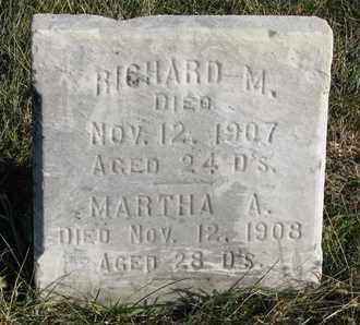 DOLPH, MARTHA A. - Cuming County, Nebraska | MARTHA A. DOLPH - Nebraska Gravestone Photos