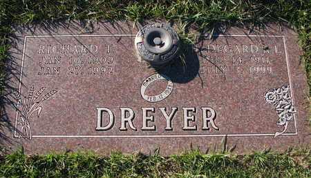 DREYER, HILDEGARD - Cuming County, Nebraska | HILDEGARD DREYER - Nebraska Gravestone Photos