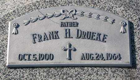 DRUEKE, FRANK H. - Cuming County, Nebraska | FRANK H. DRUEKE - Nebraska Gravestone Photos