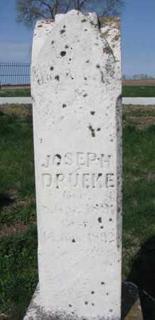 DRUEKE, JOSEPH - Cuming County, Nebraska | JOSEPH DRUEKE - Nebraska Gravestone Photos