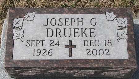 DRUEKE, JOSEPH G. - Cuming County, Nebraska | JOSEPH G. DRUEKE - Nebraska Gravestone Photos