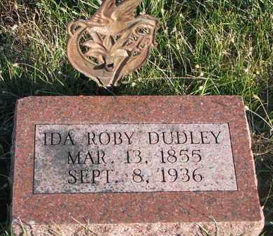 DUDLEY, IDA - Cuming County, Nebraska | IDA DUDLEY - Nebraska Gravestone Photos