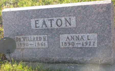 EATON, WILLARD H. (DR.) - Cuming County, Nebraska | WILLARD H. (DR.) EATON - Nebraska Gravestone Photos