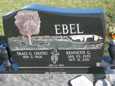 EBEL, KENNETH G. - Cuming County, Nebraska   KENNETH G. EBEL - Nebraska Gravestone Photos