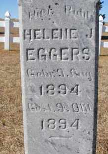 EGGERS, HELENE J. (CLOSEUP) - Cuming County, Nebraska | HELENE J. (CLOSEUP) EGGERS - Nebraska Gravestone Photos
