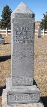 EGGERS, KATHARINE - Cuming County, Nebraska   KATHARINE EGGERS - Nebraska Gravestone Photos