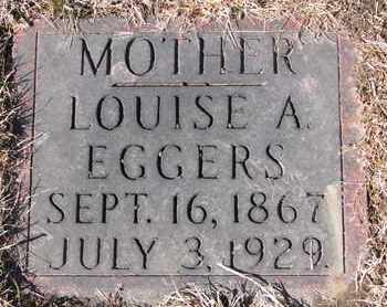 EGGERS, LOUISE A. - Cuming County, Nebraska | LOUISE A. EGGERS - Nebraska Gravestone Photos