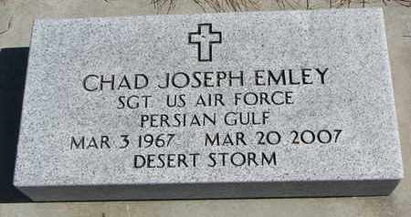 EMLEY, CHAD JOSEPH - Cuming County, Nebraska | CHAD JOSEPH EMLEY - Nebraska Gravestone Photos