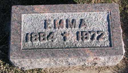 EMLEY, EMMA - Cuming County, Nebraska | EMMA EMLEY - Nebraska Gravestone Photos