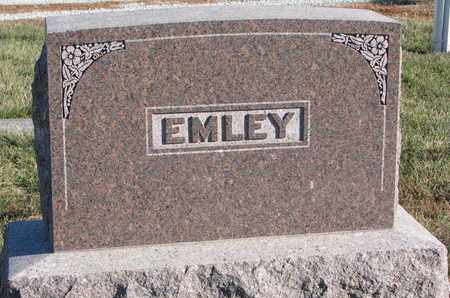 EMLEY, FAMILY STONE - Cuming County, Nebraska | FAMILY STONE EMLEY - Nebraska Gravestone Photos