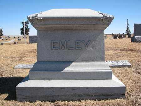 EMLEY, FAMILY STONE - Cuming County, Nebraska | FAMILY STONE EMLEY - Nebraska Gravestone Photos