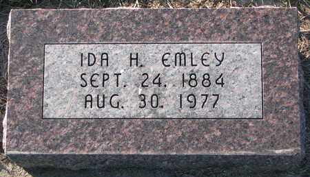 EMLEY, IDA H. - Cuming County, Nebraska | IDA H. EMLEY - Nebraska Gravestone Photos