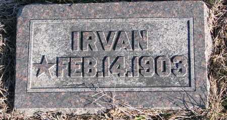EMLEY, IRVAN - Cuming County, Nebraska | IRVAN EMLEY - Nebraska Gravestone Photos