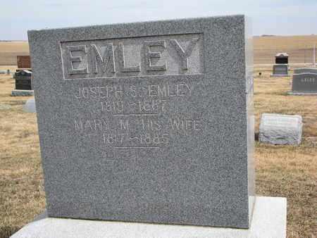 EMLEY, MARY M. - Cuming County, Nebraska | MARY M. EMLEY - Nebraska Gravestone Photos