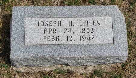 EMLEY, JOSEPH H. - Cuming County, Nebraska | JOSEPH H. EMLEY - Nebraska Gravestone Photos