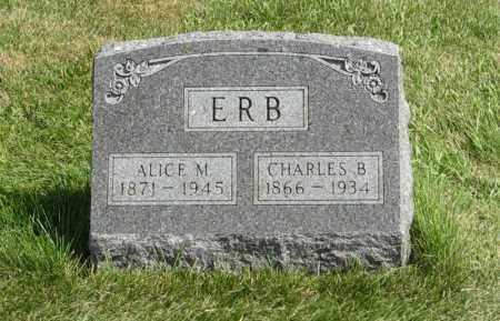 ERB, CHARLES B. - Cuming County, Nebraska | CHARLES B. ERB - Nebraska Gravestone Photos