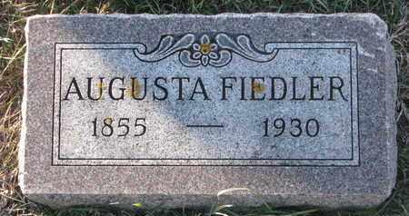 FIEDLER, AUGUSTA - Cuming County, Nebraska   AUGUSTA FIEDLER - Nebraska Gravestone Photos