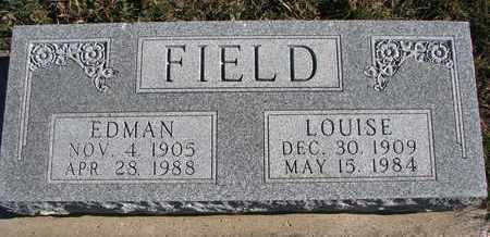 FIELD, EDMAN - Cuming County, Nebraska | EDMAN FIELD - Nebraska Gravestone Photos