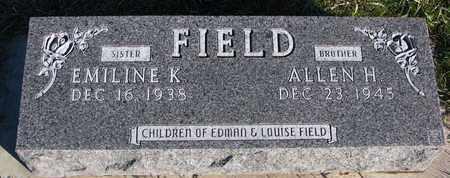 FIELD, ALLEN H. - Cuming County, Nebraska | ALLEN H. FIELD - Nebraska Gravestone Photos
