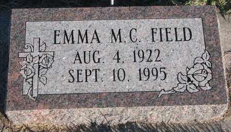 FIELD, EMMA M.C. - Cuming County, Nebraska | EMMA M.C. FIELD - Nebraska Gravestone Photos