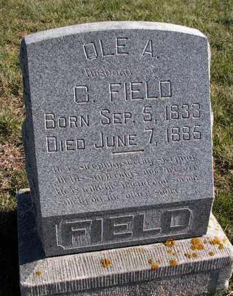 FIELD, OLE A. - Cuming County, Nebraska   OLE A. FIELD - Nebraska Gravestone Photos