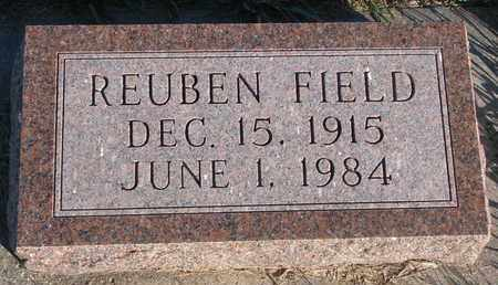 FIELD, REUBEN - Cuming County, Nebraska | REUBEN FIELD - Nebraska Gravestone Photos