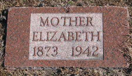 FILLMER, ELIZABETH - Cuming County, Nebraska | ELIZABETH FILLMER - Nebraska Gravestone Photos