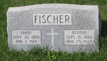 FISCHER, FRANZ - Cuming County, Nebraska | FRANZ FISCHER - Nebraska Gravestone Photos