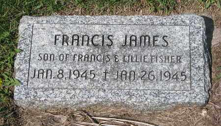 FISCHER, FRANCIS JAMES - Cuming County, Nebraska | FRANCIS JAMES FISCHER - Nebraska Gravestone Photos