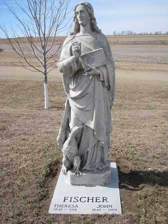 FISCHER, THERESA - Cuming County, Nebraska | THERESA FISCHER - Nebraska Gravestone Photos