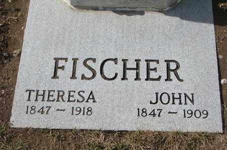 FISCHER, THERESA (CLOSE UP) - Cuming County, Nebraska | THERESA (CLOSE UP) FISCHER - Nebraska Gravestone Photos