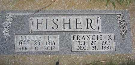 FISCHER, FRANCIS X. - Cuming County, Nebraska | FRANCIS X. FISCHER - Nebraska Gravestone Photos