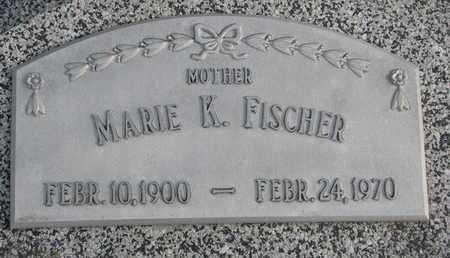 FISCHER, MARIE K. - Cuming County, Nebraska | MARIE K. FISCHER - Nebraska Gravestone Photos