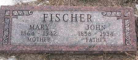 FISCHER, MARY - Cuming County, Nebraska | MARY FISCHER - Nebraska Gravestone Photos