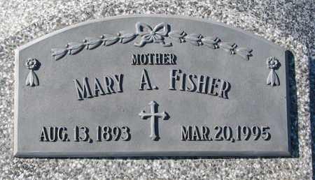 FISCHER, MARY A. - Cuming County, Nebraska   MARY A. FISCHER - Nebraska Gravestone Photos