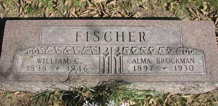FISCHER, WILLIAM C. - Cuming County, Nebraska   WILLIAM C. FISCHER - Nebraska Gravestone Photos