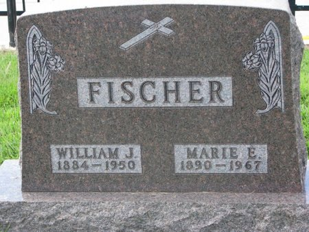 FISCHER, WILLIAM J. - Cuming County, Nebraska | WILLIAM J. FISCHER - Nebraska Gravestone Photos