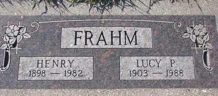 FRAHM, HENRY - Cuming County, Nebraska | HENRY FRAHM - Nebraska Gravestone Photos