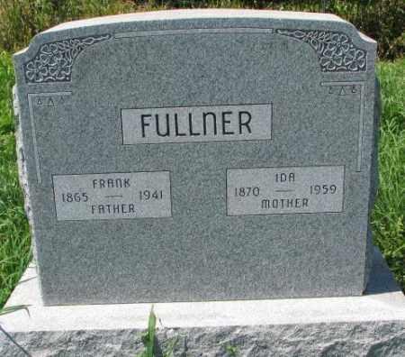 FULLNER, FRANK - Cuming County, Nebraska | FRANK FULLNER - Nebraska Gravestone Photos