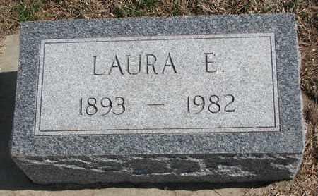 GAER, LAURA E. - Cuming County, Nebraska | LAURA E. GAER - Nebraska Gravestone Photos
