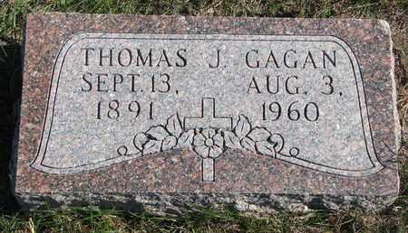 GAGAN, THOMAS J. - Cuming County, Nebraska   THOMAS J. GAGAN - Nebraska Gravestone Photos