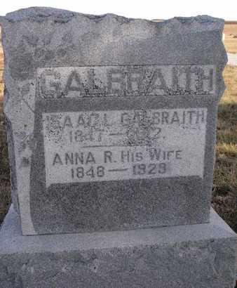 GALBRAITH, ANNA R. - Cuming County, Nebraska | ANNA R. GALBRAITH - Nebraska Gravestone Photos