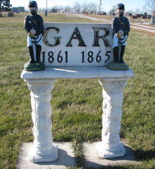 *G.A.R., MEMORIAL - Cuming County, Nebraska | MEMORIAL *G.A.R. - Nebraska Gravestone Photos